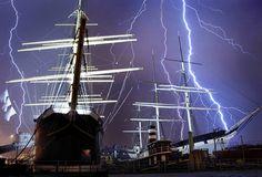 Lightning & the Tall Ships