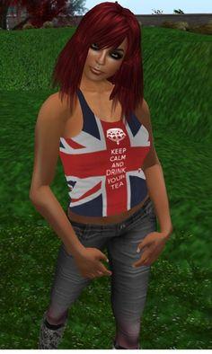 C* UK Tea Tank Top .::Dollarbie::.