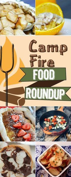 Summer means never having to cook indoors. 13+ great camp fire recipes that are sure to please - even desserts!| saynotsweetanne.com