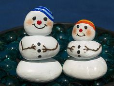 new 016   Prototypes for the Snowman Series   Eugenia LaBar   Flickr