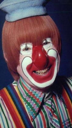 Willie Whistle, kids show host on WSBK-TV circa 1968
