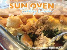 Sun Oven Turkey Divan