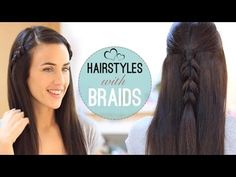 Easy hairstyles with braids