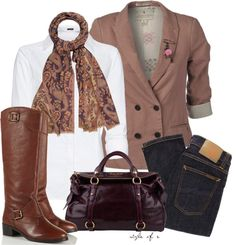"""Purple and Rose"" by styleofe ❤ liked on Polyvore"