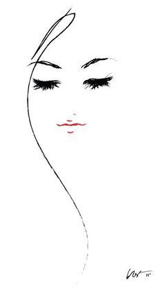 La sencillez del arte en su maxima expresion La cara de una mujer pensativa #Fashionmodels