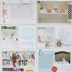 project life: week 26 by stephaniebryan at Phillips Mounier Calico Project Life Scrapbook, Project Life Layouts, Life Journal, Life Page, Paper Tags, Studio Calico, Smash Book, Life Inspiration, Craft Projects
