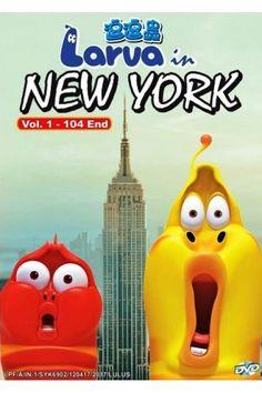 Larva In New York Vol.1-104End - Korea Anime Cartoon DVD