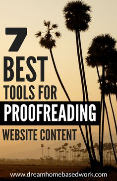 7 Best Tools to Proofread Website Content and Improve Conversion Rates - making money Home Based Work, Work From Home Jobs, Make Money From Home, Way To Make Money, Job Interview Tips, Work From Home Opportunities, Business Opportunities, Proofreader, Content Marketing Strategy