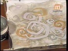 Cómo pintar y decorar prendas de seda artificial - YouTube Peacock Wall Art, Batik Art, Paisley Design, Paisley Pattern, Silk Art, Chalk Pastels, Illuminated Letters, Linocut Prints, Textiles