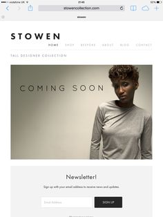 STOWEN WEBSITE IS LIVE!  A big day for Stowen. Our website is now available for you to check out and please sign up for our newsletter! The website will continue to being developed and more information added within the next few days. The Shop will open next week with exciting products for the autumn/winter.