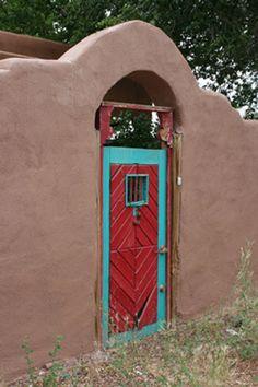 Northern New Mexico Red Door. $22.00, via Etsy.