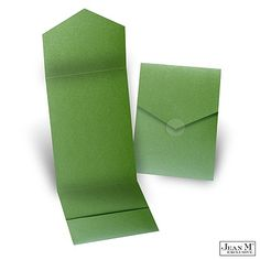 Green Shimmer Pocket