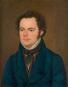 Franz Schubert painting by Anton Depauly Romantic Composers, Classical Music Composers, Daft Punk, Ave Maria Schubert, Schubert Franz, Anton, Amadeus Mozart, Portraits, Concert Hall