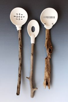 3 Pierced Spoons- Leilani Trinka