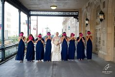 A photo outside on the balcony, additional great space for a reception at the ballroom. Photography by Adam Nyholt, Photographer.