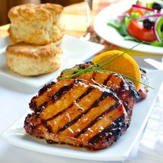 An outstanding recipe for orange cardamom chops where the marinade does double duty by being turned into a delicious, fragrant, honey citus cardamom glaze.