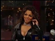 Janet Jackson in full leather catsuit on daily show