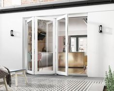 Strategy, tricks, and resource when it comes to getting the very best result and creating the maximum perusal of french doors bedroom Bifold Doors Onto Patio, White Bifold Doors, Bi Fold Patio Doors, Bi Folding Doors Kitchen, French Doors Bedroom, French Doors Patio, External Bifold Doors, Door Decks, Door Furniture