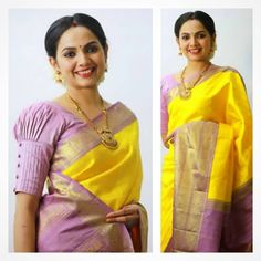Top trending latest blouse sleeves design - the handmade craft Pattu Saree Blouse Designs, Blouse Designs Silk, Designer Blouse Patterns, Simple Blouse Designs, Stylish Blouse Design, Sari Design, Designer Kurtis, Sleeves Designs For Dresses, Sleeve Designs