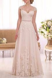 Lace A-Line Gown