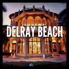 Board Cover: Delray Beach (Instagram Overlay)