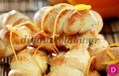 Κουλουράκια κανέλας με πορτοκάλι | Dina Nikolaou