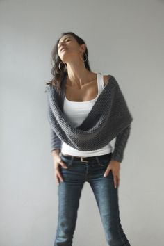 Great scarf sweater