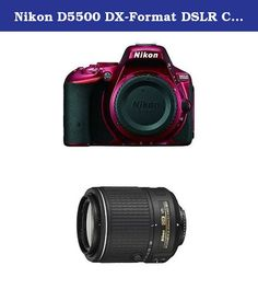 Nikon D5500 DX-Format DSLR Camera (Red) with 55-200mm Lens. 24.2 MP DX-format CMOS sensor with no optical low-pass filter (OLPF). Compact telephoto zoom that's great for action, people and travel.