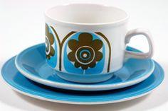 Staffordshire Potteries tea trio