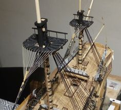 Forums / POB Build Logs / HMS Leopard; 4th Rate 50 Gun Ship; 1790; P.O.B. 1:80 - Model Ship Builder