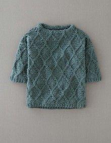 Hand Knit Cable Jumper. Inspiración. Sin patrón.