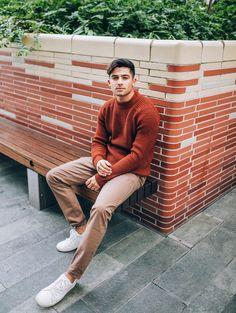 Menswear blogger Joey London styles up the new season with Tu.