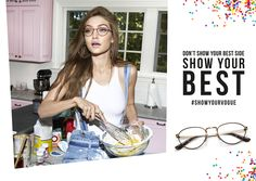 abbae24c89 74 Best Gigi Hadid For Vogue Eyewear images