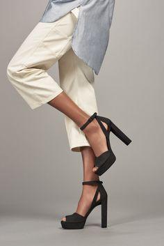 The HIJINX is the triple threat: Killer cutouts. Perfect platforms. Haute heels.