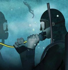 """Another case study in our Dive Training series """"Lessons For Life"""": Far exceeding recreational limits leads to death for a new diver"""