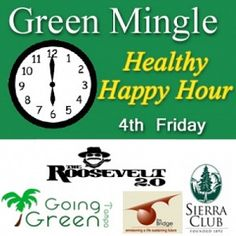 Celebrate Healthy Happy Hour at the Roosevelt 2.0 http://www.goinggreentampa.com/events/list-events/event/833-healthy-happy-hour