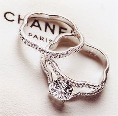 Wedding rings chanel The best wedding photo blog