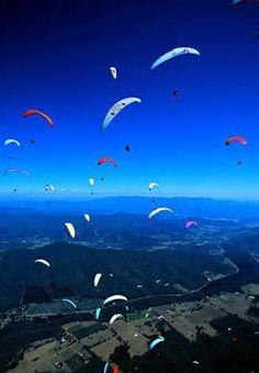 Paragliding, Google Images, Outdoors, Mountains, Nature, Travel, Naturaleza, Viajes, Trips