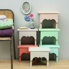 saartje prum timzowood living - Pastel Furniture