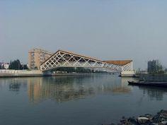 Pedestrian Bridge in China by CA-Design