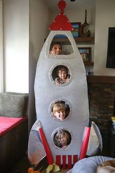 rocket ship photo booth