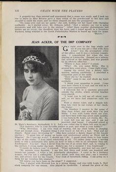 Jean Acker in 1913