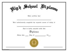 Looking for free Printable High School Diploma Template? ✅ These diploma templates are free to use & can be edited online. Homeschool High School, Homeschool Diploma, Adult High School Diploma, High Diploma, Graduation Certificate Template, Certificate Templates, Printable Certificates, University Diploma, Home Schooling
