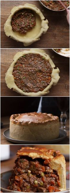 TORTA DE CARNE PERFEITA (veja a receita passo a passo) #torta #carne #receita #gastronomia #culinaria #comida #delicia #receitafacil A Food, Good Food, Food And Drink, Yummy Food, Kitchen Recipes, Cooking Recipes, Sweet And Salty, What To Cook, Winter Food