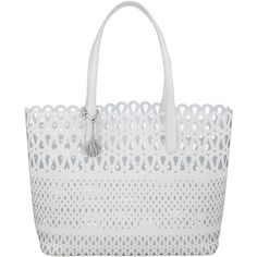 a9ce5b0ecabd DKNY Fashion Vachetta Leather Shopper Bag