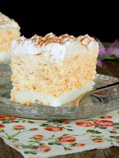 Baking Recipes, Cake Recipes, Dessert Recipes, Torta Recipe, Kolaci I Torte, Torte Cake, Croatian Recipes, Cake Cookies, No Bake Cake