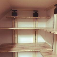 My Shelf/ダイソー/100均/DIY/リメイクシート/パントリーDIY...などのインテリア実例 - 2017-11-08 16:29:38 | RoomClip (ルームクリップ)