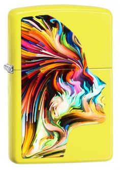 Zippo tulemasin Colorful Head - Salman Shois Kella-ja kullaäri