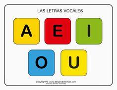 1001 imágenes para trabajar las vocales -Orientacion Andujar