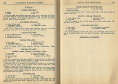 1940s cake recipes, 1940s frosting recipes, vintage cake recipes